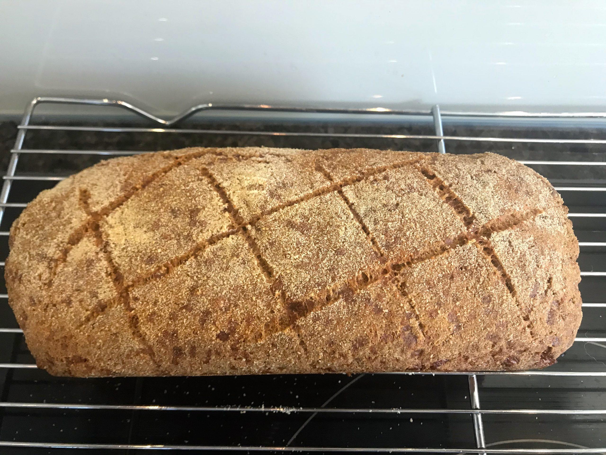 Skikkelig godt og saftig keto brød